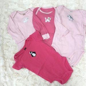 Baby girl onesie set - 6 Months